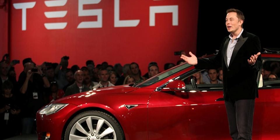 Илон Маск и Tesla мобиль, goodwix-blog